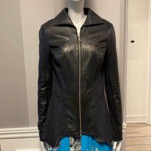 Danier Italian Leather Mix Jacket